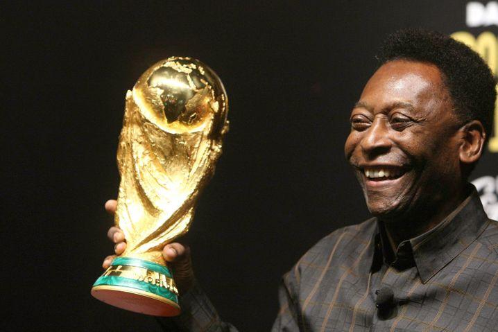 Als einziger Spieler gewannPelédrei Fußballweltmeisterschaften