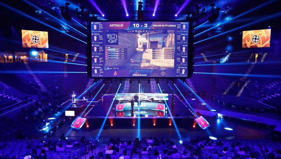 eSports-Turnier in Las Vegas
