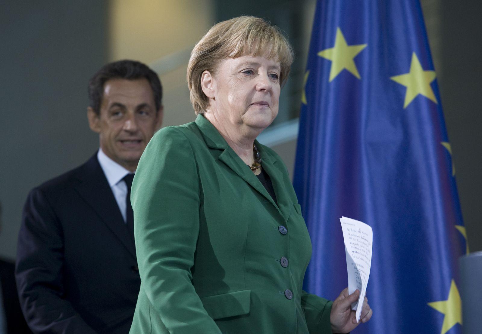 NICHT VERWENDEN Merkel / Sarkozy