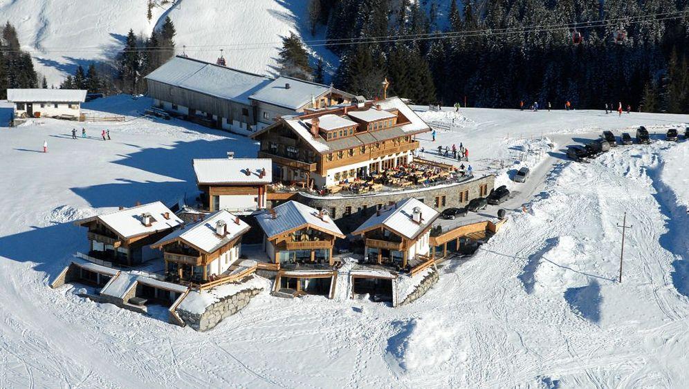 Luxus-Skihütten: Fünf Sterne plus Pulverschnee