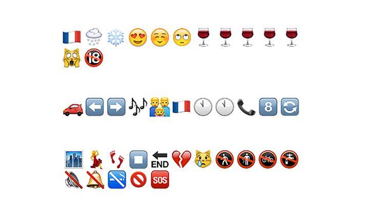 Emoji-Sneakpreview: Wer wollte, konnte einen Vorgeschmack in Bildchen auf das kommende Kapitel abonnieren