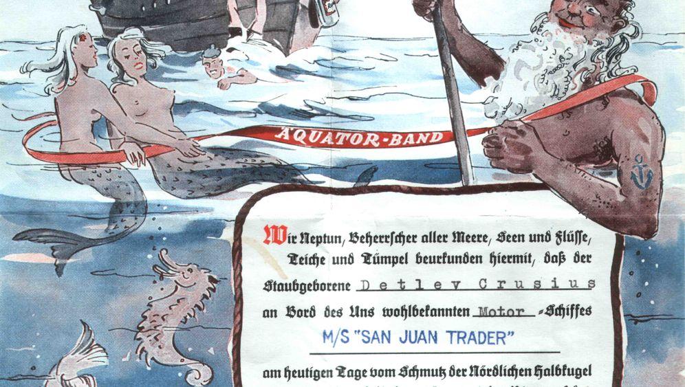 Seemannsbräuche: Einmal Neptun die Füße lecken