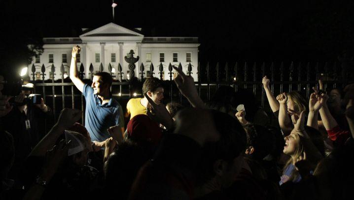Tod von Osama Bin Laden: Jubel auf Amerikas Straßen