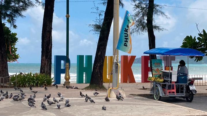 Modellregion Phuket: Leere Strände trotz erleichterter Quarantänevorschrift