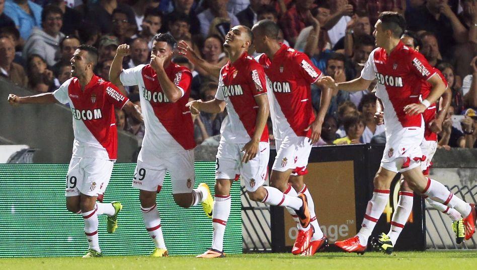 Spieler des AS Monaco: Strafe umgewandelt
