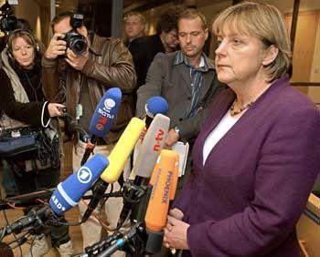 CDU-Chefin Merkel: Kein Hau-Ruck-Verfahren