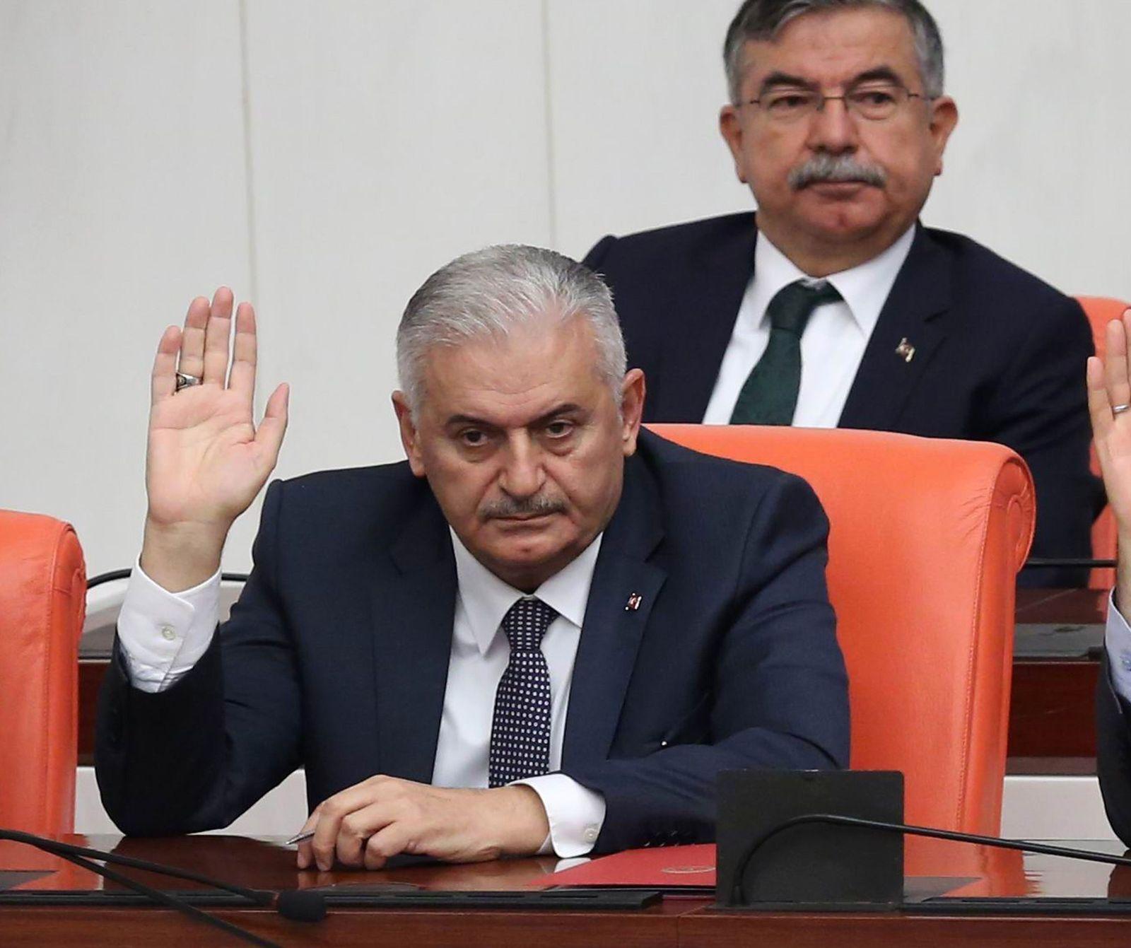 TURKEY-POLITICS-YILDIRIM