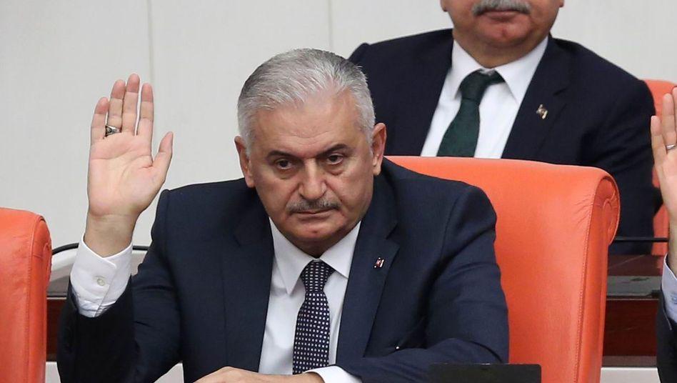 Türkischer Premier Yildirim