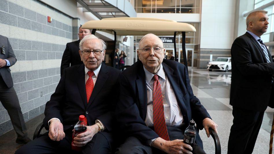Warren Buffett ist 89 Jahre alt, sein Vize Charlie Munger 96: Sie sehen das Unternehmen gut auf einen Führungswechsel vorbereitet