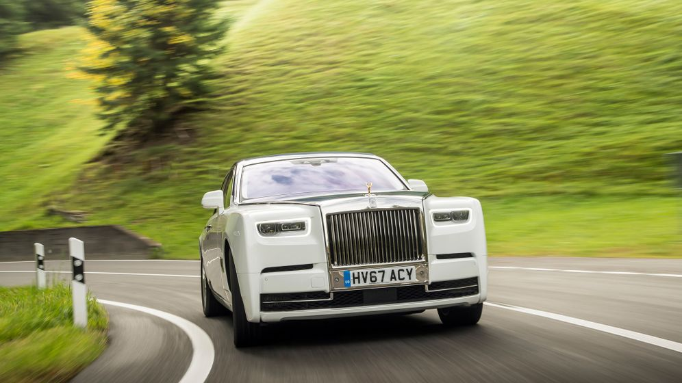 Rolls-Royce Phantom: Sound of Silence
