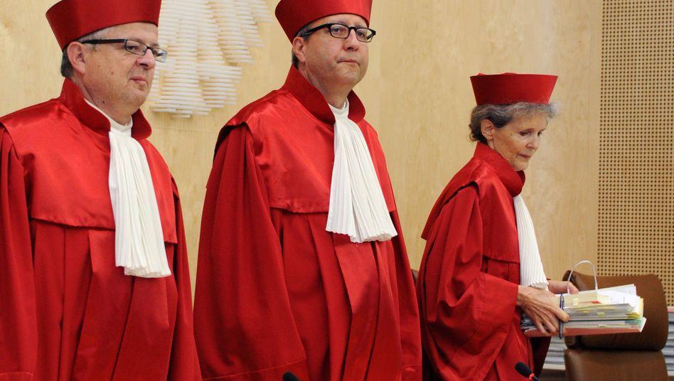 Verfassungsrichter: Entscheidung für ganz Europa