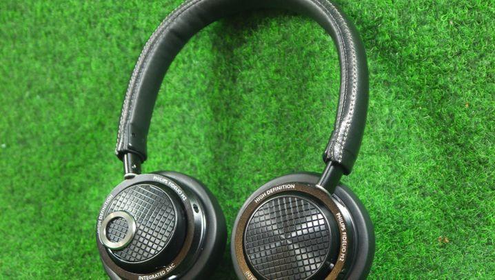 Kopfhörer im Test: Philips Fidelio M2L in Bildern