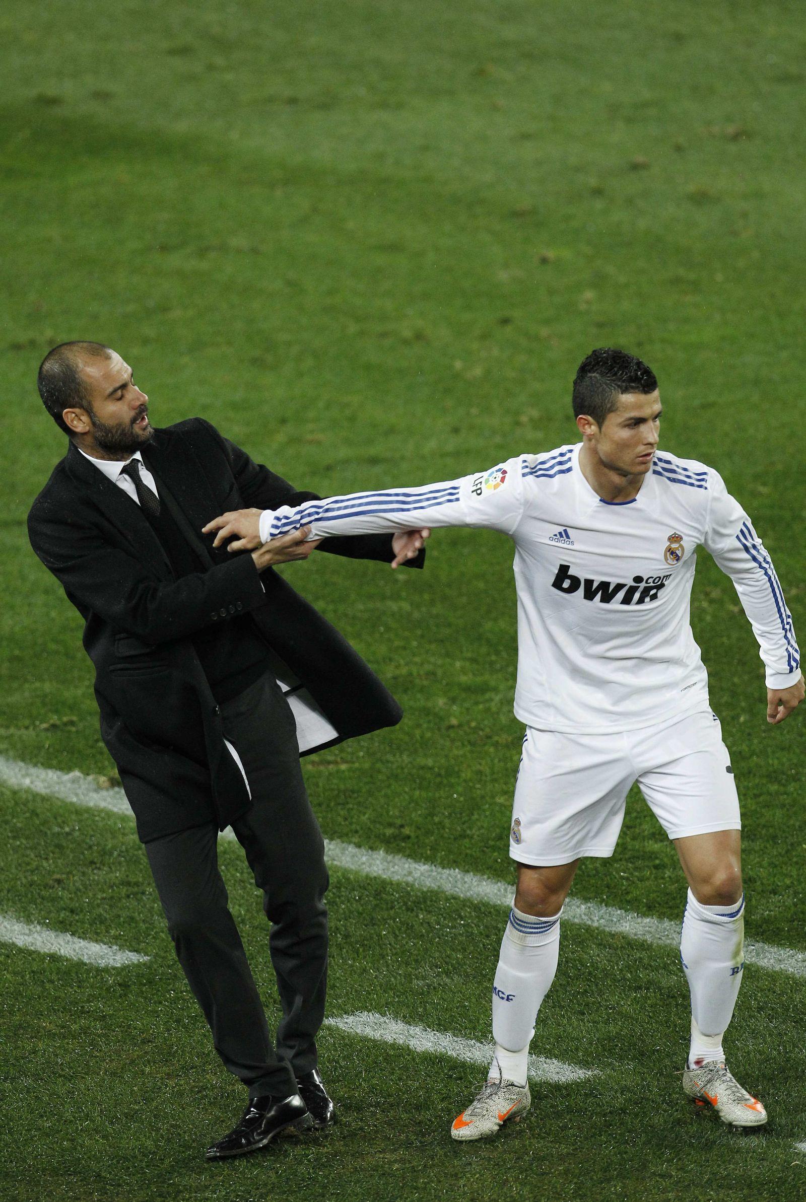 ronaldo gegen pep