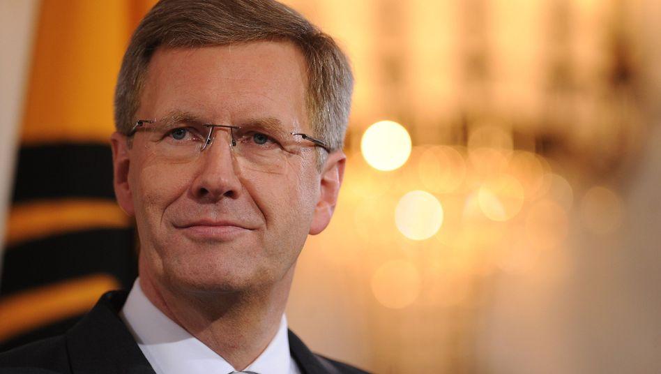 """Bundespräsident Wulff: Er hat bereits """"Bild""""-Chef Diekmann """"gewulfft"""""""