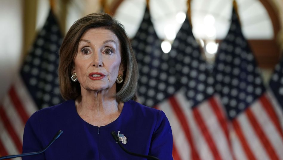 Nancy Pelosi, Sprecherin des US-Repräsentantenhauses