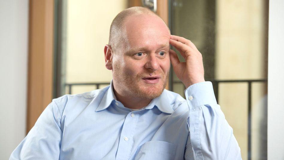 """Piratenchef Schlömer: """"Wir müssen uns um die Inhalte kümmern"""""""