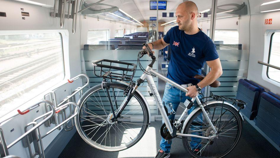 ICE 4: Zwischen Hamburg und München ist seit Oktober der Radtransport möglich