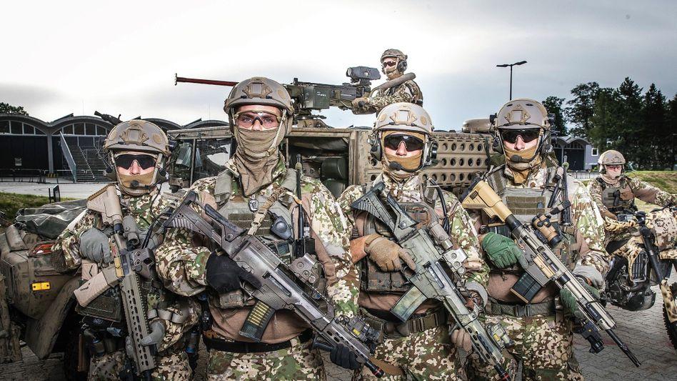 Deutsche Kommandosoldaten:Welche Ehe hält das schon aus?