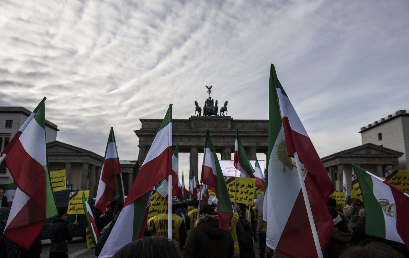 Berlin / Iran / Demo