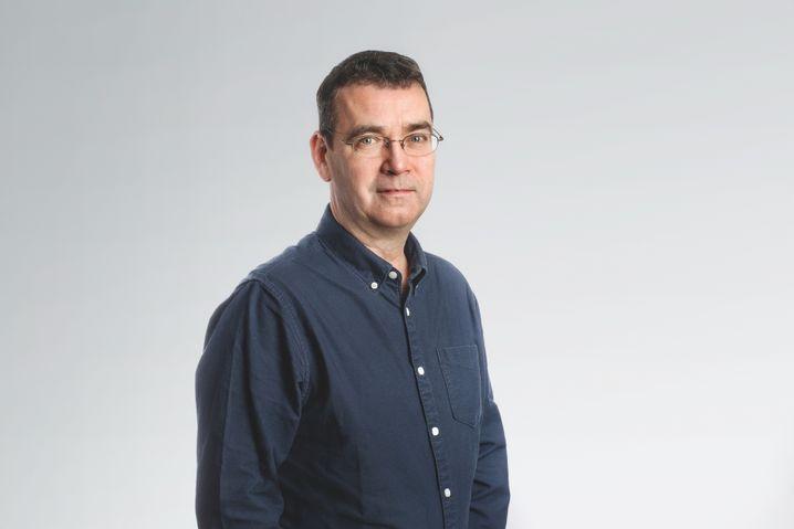 Romanautor Mick Herron