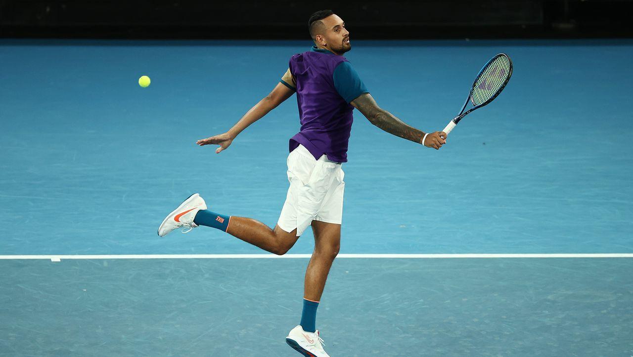 Kyrgios begeistert bei den Australian Open: Der Tennis-Sound ist zurück - DER SPIEGEL