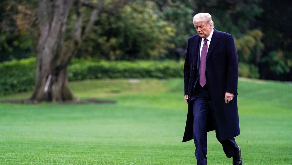 Hat Corona: Donald Trump