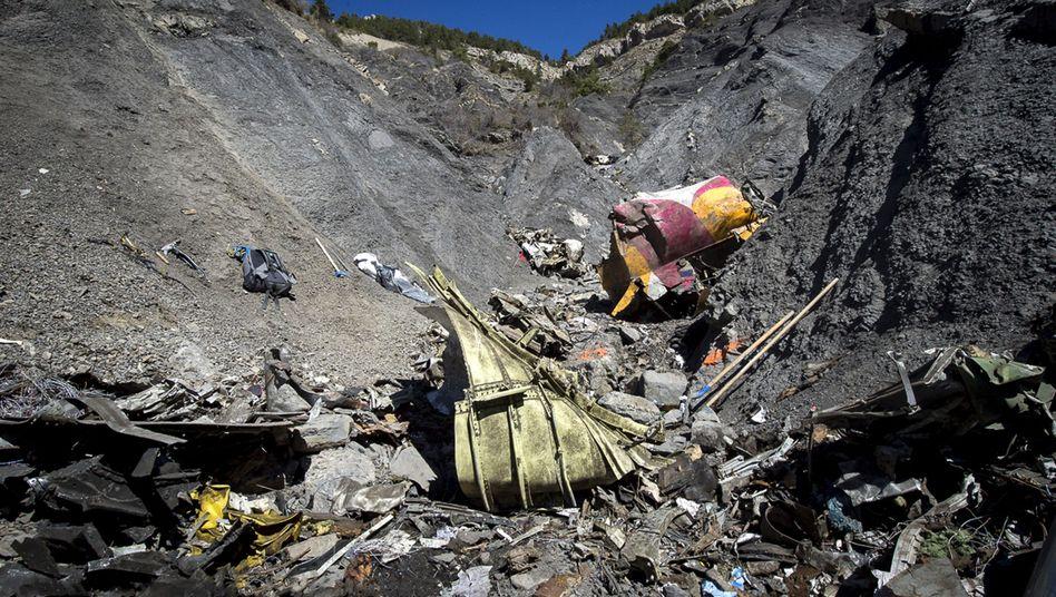 Trümmer im Süden Frankreichs: Zweite Blackbox bestätigt Absturzabsicht