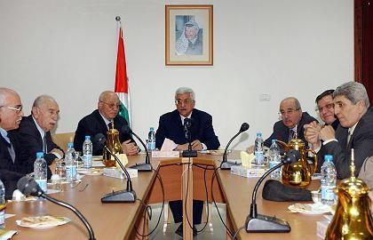 Exekutiv-Komitee der PLO: Bewegung nach 30 Jahren Reformstau