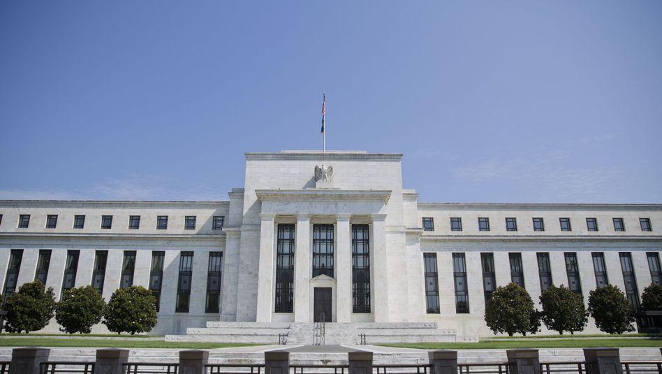 Hauptsitz der US-Notenbank Federal Reserve in Washington