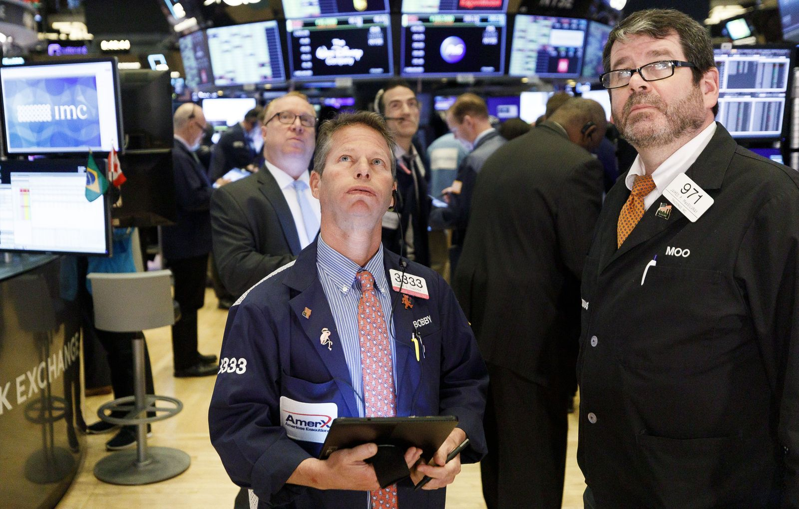 New York Stock Exchange Coronaviurus reaction, USA - 16 Mar 2020
