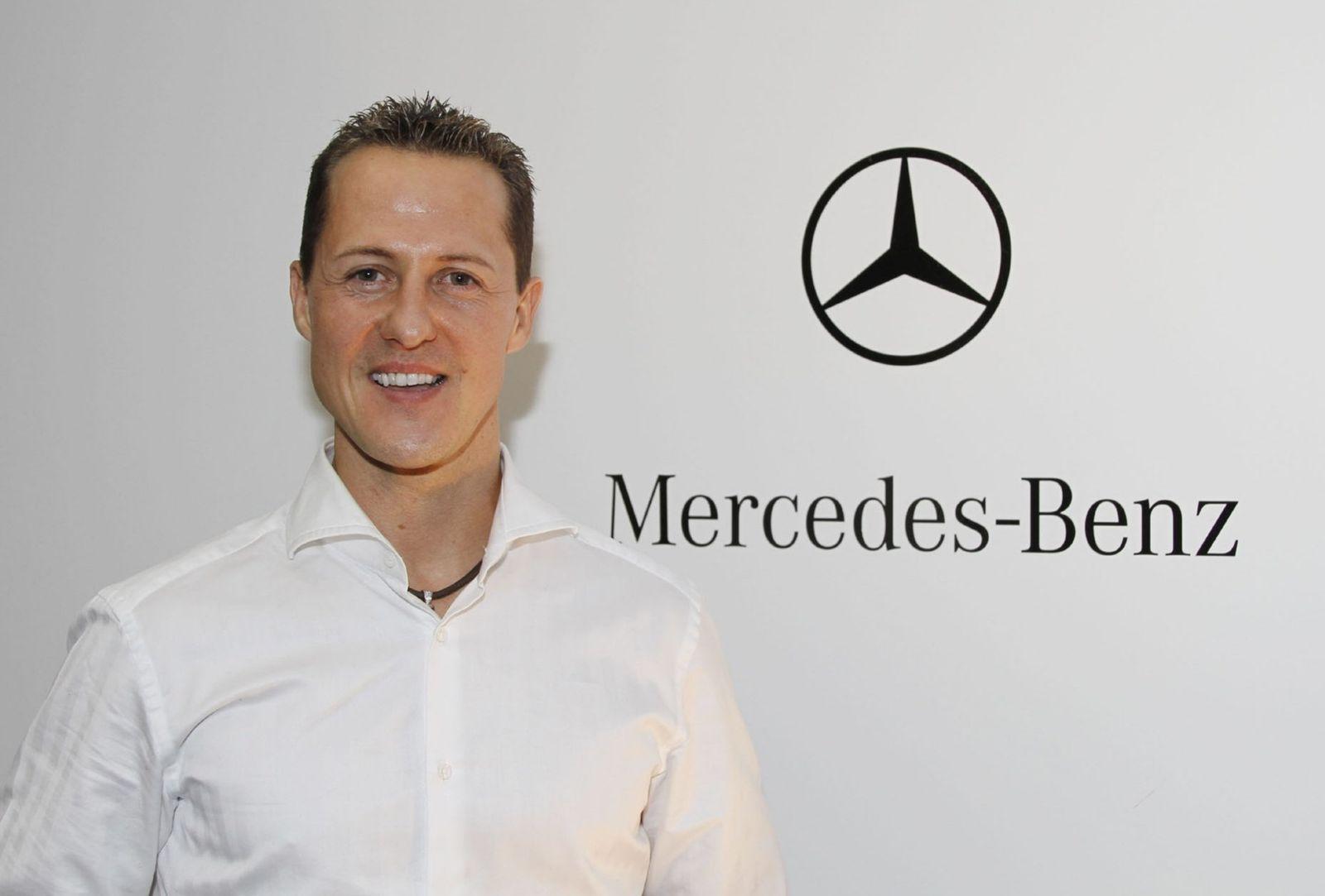 Michael Schumacher kehrt für Mercedes in die Formel 1 zurück