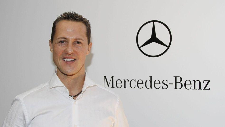 """Formel-1-Pilot Michael Schumacher: """"Das ist den Leuten schwer zu vermitteln"""""""