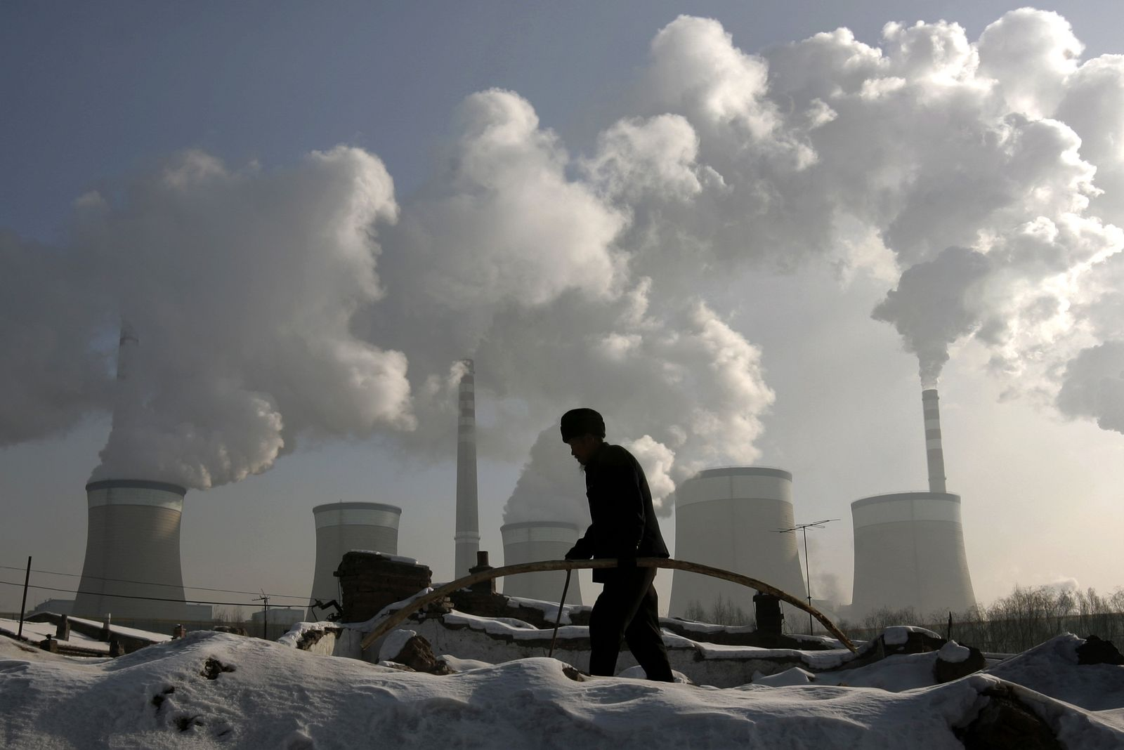 China/Kohlekraftwerk