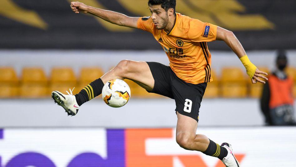 Der gefährlichste Angreifer bei den Wolverhampton Wanderers: Raúl Jiménez