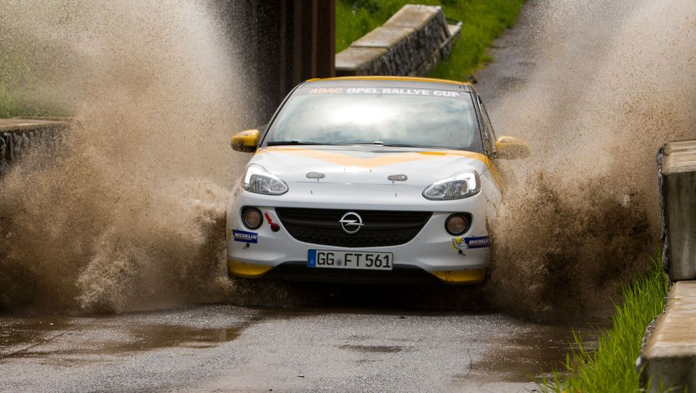 Opel Adam Cup: Die Schlammpackung