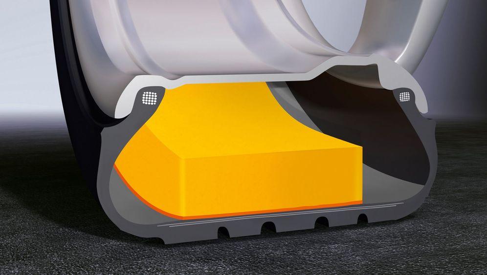 Weniger Abrollgeräusche im Auto: Die Reifenflüsterer