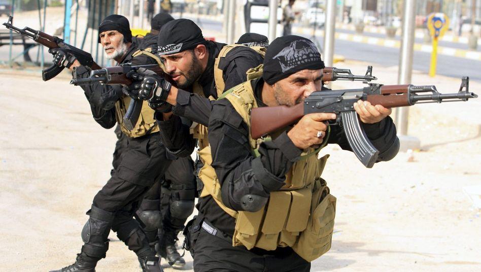 Schiitische Milizionäre im Irak: Menschenrechtler erheben schwere Vorwürfe