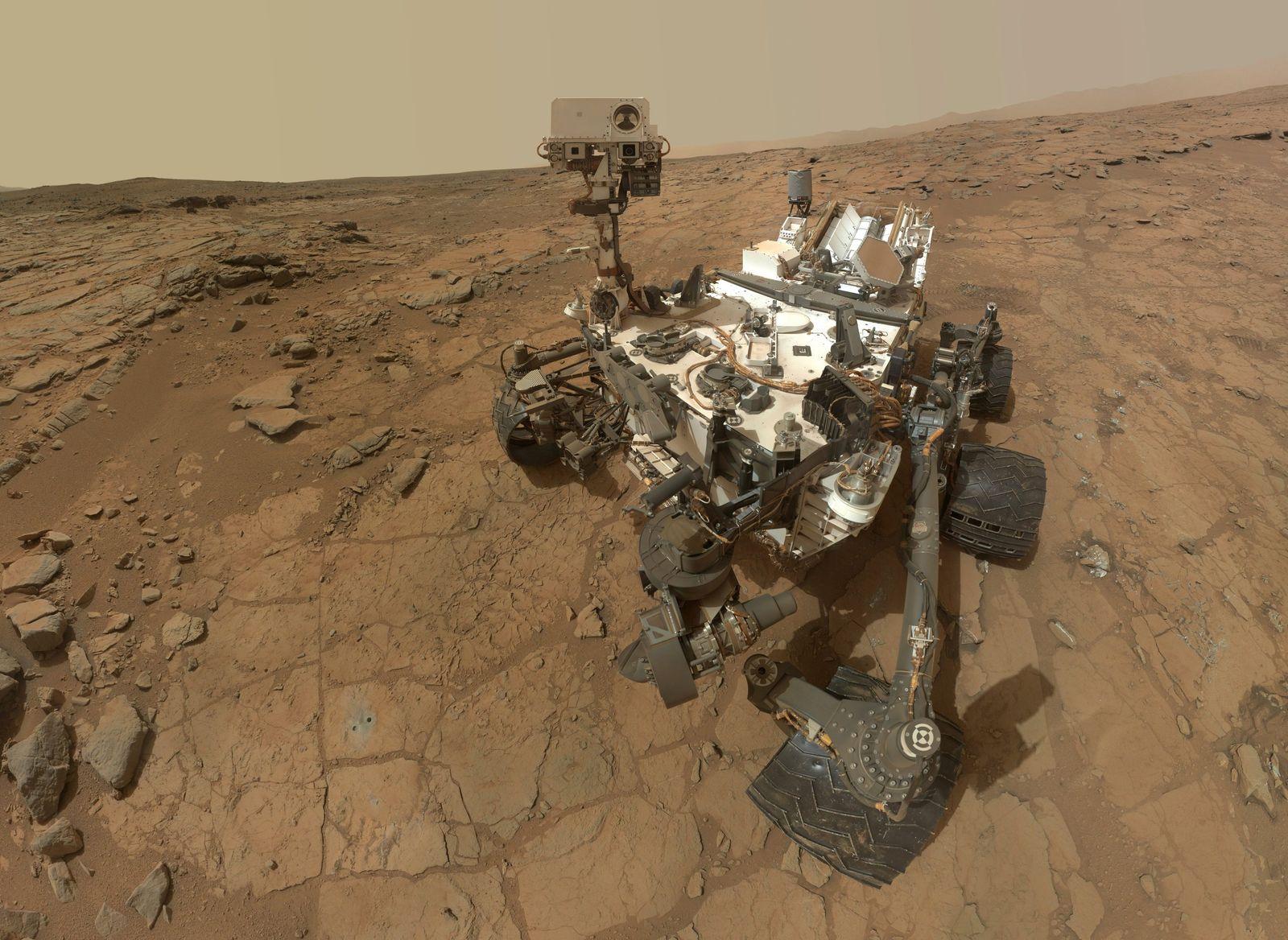 Rover «Curiosity»/ fünf Jahre/ Mars