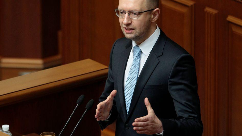 Ukrainischer Premier: Arsenij Jazenjuk plant Referendum