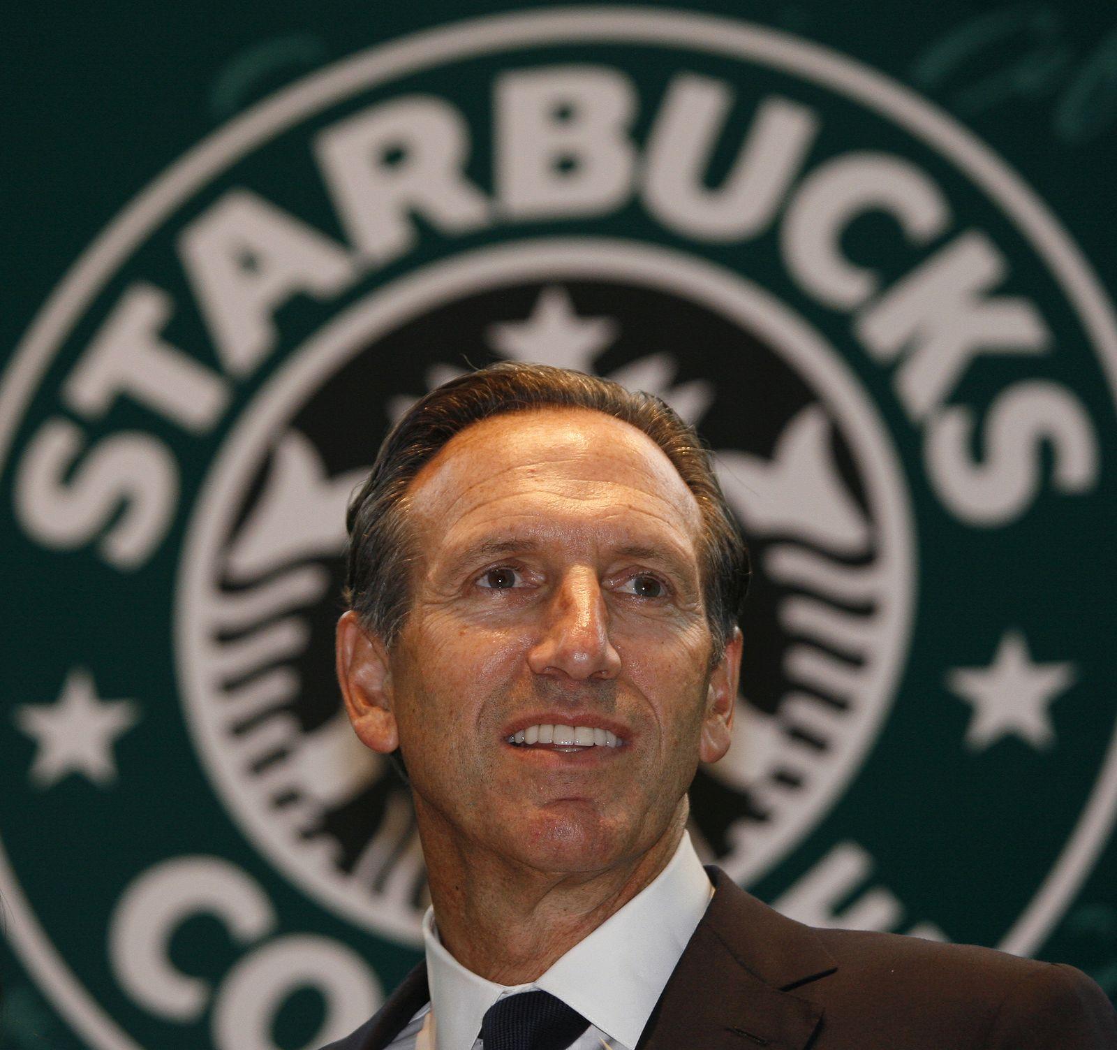 NICHT MEHR VERWENDEN! - Starbucks / Howard Schultz