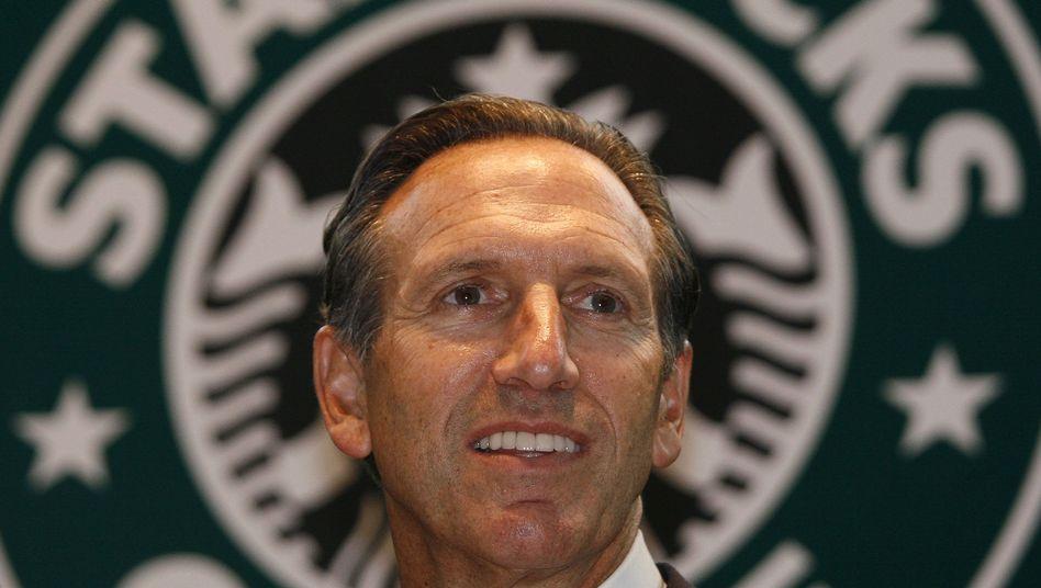 Starbucks-Chef Howard Schultz: eine Leidenschaft für Kaffee - und für Details