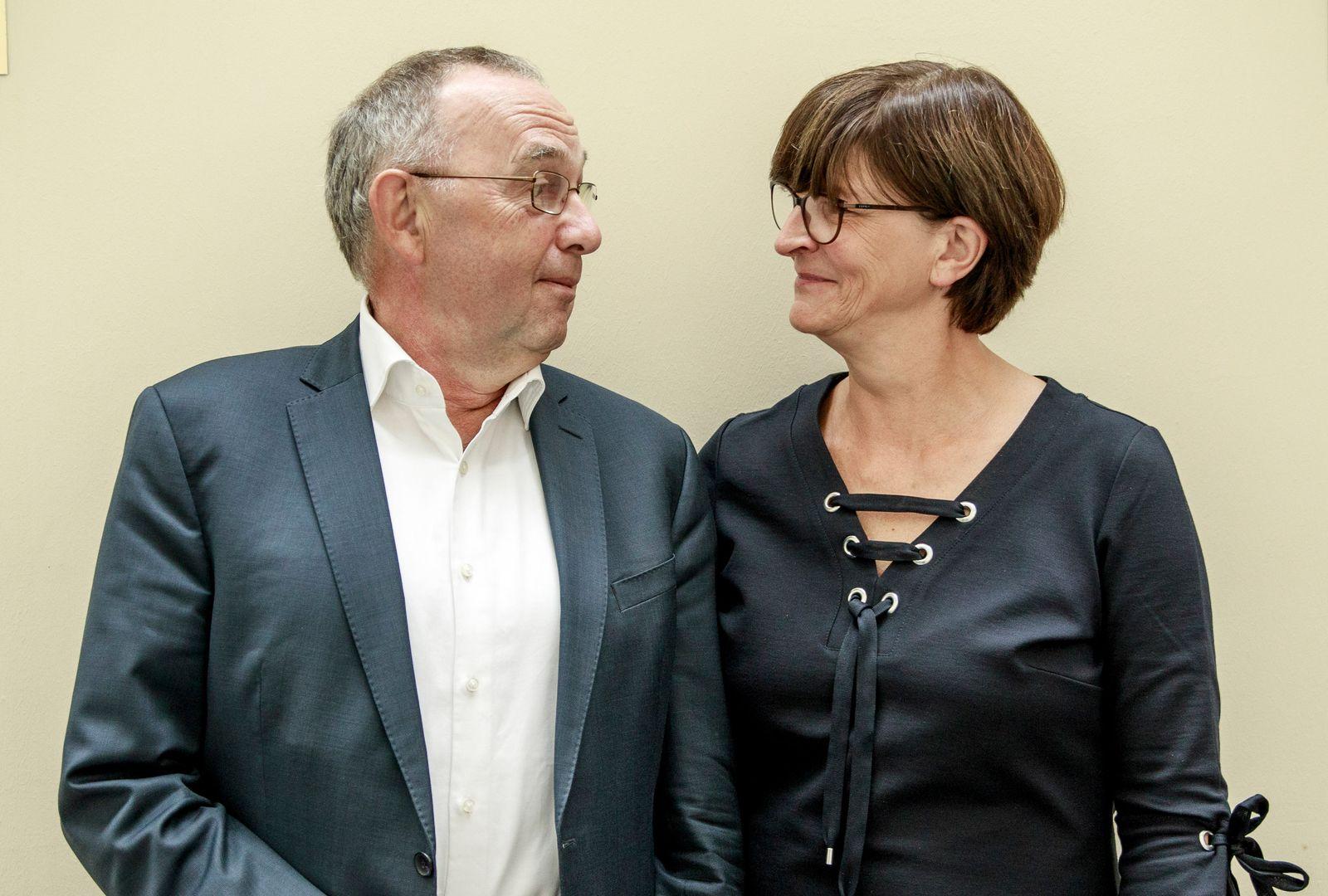 Kandidatur für Parteivorsitz der SPD