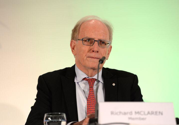 Dopingermittler Richard McLaren