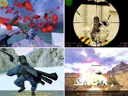 """Im Visier: """"Counter-Strike"""" ist das Kultspiel der E-Sport-Fans, meistgespielter Titel auf Lan-Partys und das griffigste Ziel für Killerspiel-Gegner"""