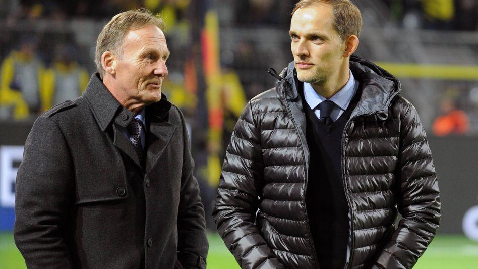 Watzke (links) und Tuchel