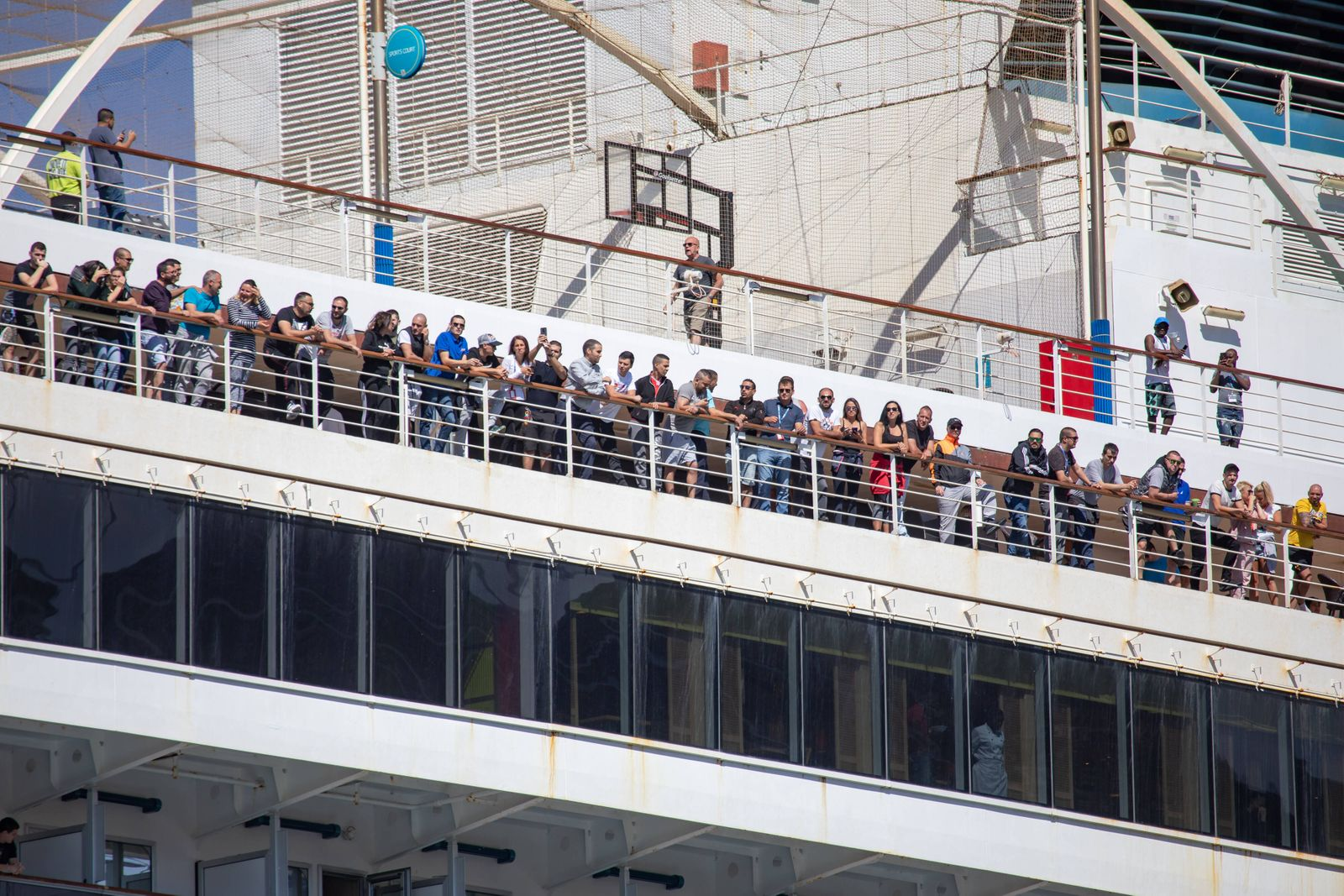 Carnival Breeze arrived with 93 Croatian sailors 26.05.2020., Dubrovnik, Dubrovnik - Although the arrival is not planned