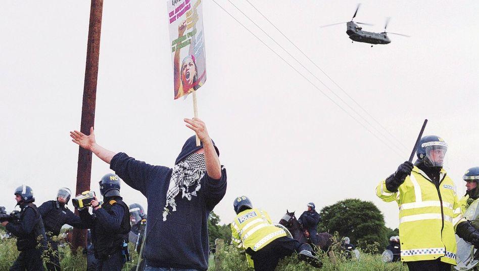 Anti-G-8-Proteste im schottischen Gleneagles 2005: »Die Demokratie auf den Kopf gestellt«