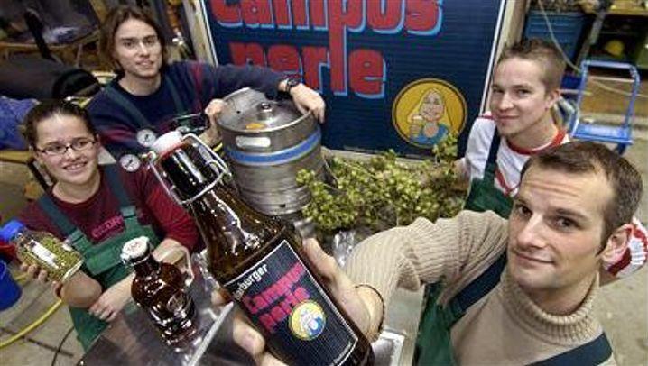 """Bier """"Campusperle"""": Wohl bekomm's"""