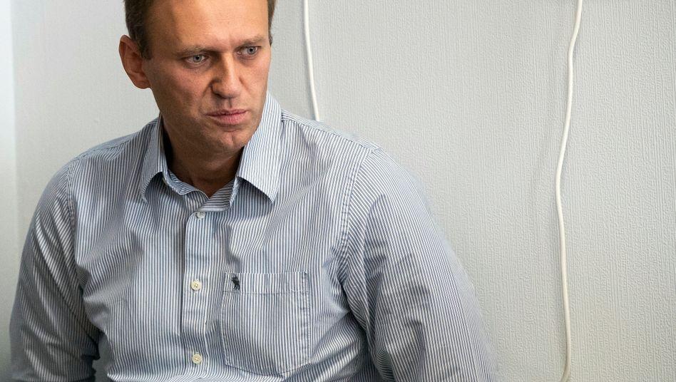 Alexej Nawalny (Foto vom September 2018): im Koma in der Berliner Charité