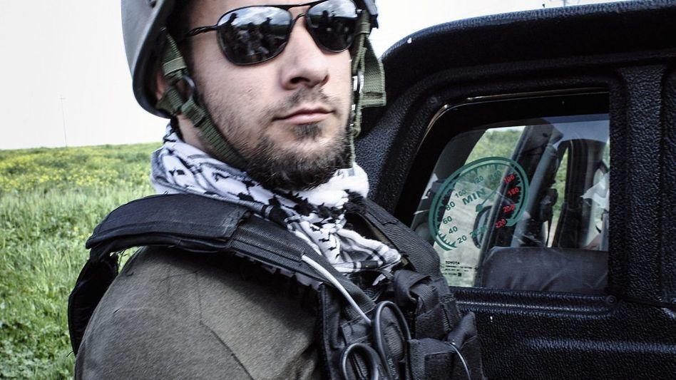 Fotograf Spyra im Irak